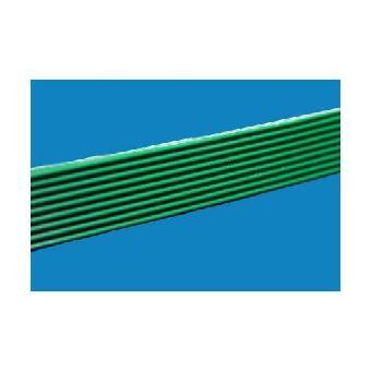 直条纹pvc输送带/花纹绿色输送带/直条花纹输送带由上海贝文塑胶制