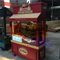 泉州市万达广场订购的零售售货亭图片