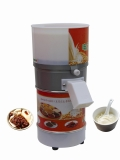 涵村牌电动石磨豆浆机小型商用磨粉机