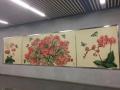 景德鎮陶瓷壁畫 高溫瓷壁畫 大型裝飾壁畫廠家