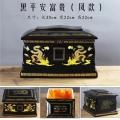 多款陶瓷骨灰盒直筒圓形壽盒殯葬用品純白色骨灰壇寵物