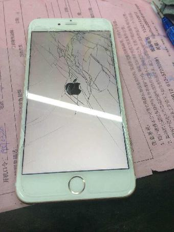 苹果6手机屏幕碎了更换原装屏幕多少钱