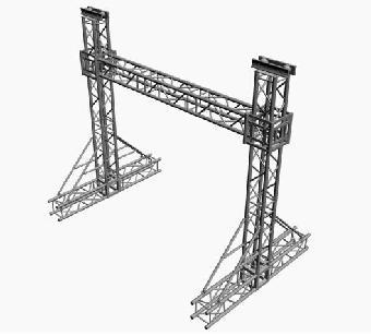 桁架是由直杆组成的一般具有三角形单元的平面或空间结构.