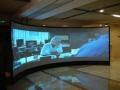 山东鸿合65寸触控一体机交互式会议平板送移动支架