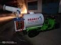 新能源电动三轮洒水车 小型电动清洗车 工地降尘电动