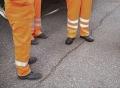 華通專供四川資陽路面修補貼縫帶抗裂貼等路面養護材料