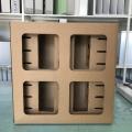 紙箱式過濾器 干式油漆過濾器集成箱式 迷宮式漆霧過