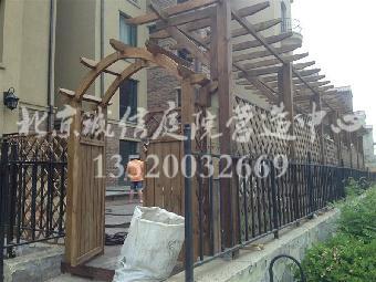 房山防腐木栅栏设计制作公司