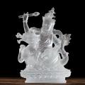 寺廟琉璃佛像琉璃綠度母白度母琉璃五路財神黃財神
