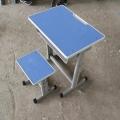 新鄉單人固定課桌凳 雙人學生課桌凳