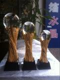 團體冠軍獎杯西安哪里有,免費設計金屬、水晶獎杯刻字