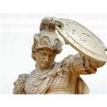 外國人物雕塑玻璃鋼仿銅雕塑
