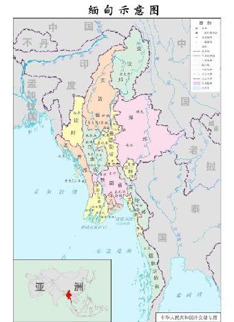 勐海至腾冲地图