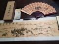 陜西絲綢卷軸 西安一帶一路陸地絲路彩繪卷軸紀念品