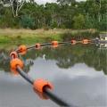 港口水庫吹填工程塑料管道浮體保護水上管道浮筒