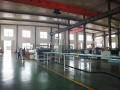 不定期举办观摩会的通佳CO2挤塑板生产线