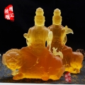 琉璃佛像工廠直銷 文殊普賢菩薩琉璃佛像廠家、工廠