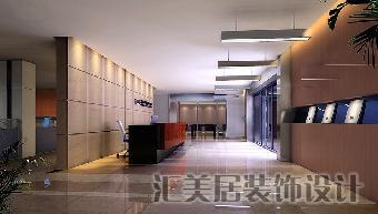 办公室形象墙,创意办公空间设计,公司前台装修图片