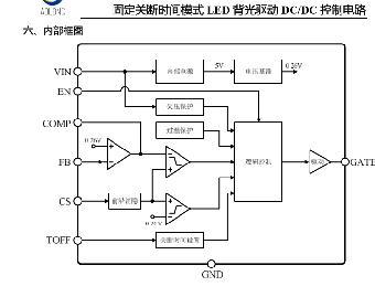 低压卤素灯照明驱动供电芯片
