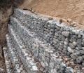 河道治理熱鍍鋅石籠網箱 鉛絲籠 防洪防汛六角格賓網