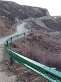 信鵬護攔板高速波形護欄波形梁鋼護欄三波護欄噴塑護欄