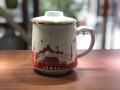 純白陶瓷茶杯定制logo 景德鎮陶瓷茶杯 青花瓷茶
