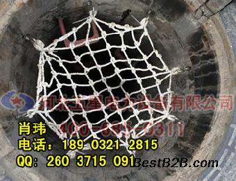 热力井盖防护网山西厂家报价 窨井防坠网规格
