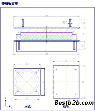 丹东qz钢结构球形盆式橡胶支座价格