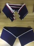 生產訂做 絲光棉衣領 絲光棉扁機領