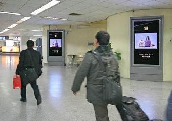 上海虹桥机场广告数码刷屏机场电视广告报价