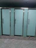 德州衛生間玻璃隔斷尺寸廁所玻璃隔斷定制
