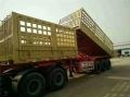 40英尺集裝箱半掛骨架車報價配置公告批量出售