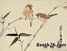 陈大羽花鸟画交易市场在哪里?