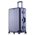 工廠現貨批發時尚潮流鋁框拉桿箱萬向輪行李箱登機箱