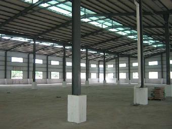 公明钢结构工程装修 深圳厂房车间彩钢板隔墙公司