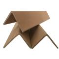 纸箱打包硬纸护边 打包纸垫脚 托盘打包加固条山东厂