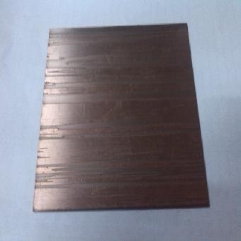 不锈钢红古铜树皮纹板