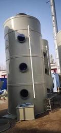 PP水噴淋凈化塔的工作原理和構造
