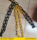 黄黑相间警示铁链交通护栏防护链条5mm8mm