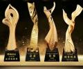 揭陽公司年會獎杯銷售狀元獎杯慈善之星獎杯學校獎杯