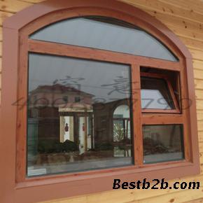 铝木窗采用了双层密封结构,把先进的汽车密三元乙丙封胶条用在这种