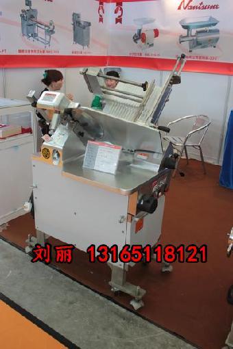 分的高效切片速度;大功率双电机(不需电路板)的机械,北京羊肉切片机