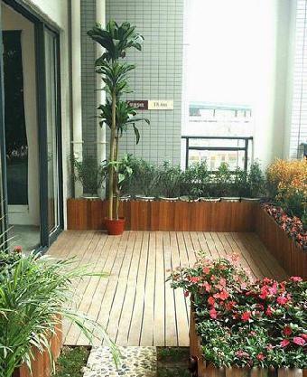 惠州阳台绿化效果图,室内阳台绿化