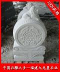石雕抱鼓石 漢白玉獅子門墩 門枕石價格
