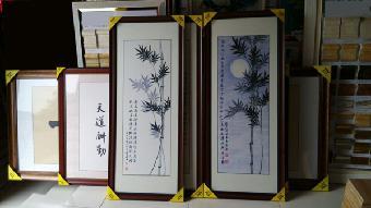 书画装裱裱框材料批发图片