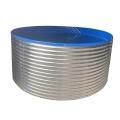 廣西養殖水池鍍鋅板加厚刀刮布魚池網箱定制