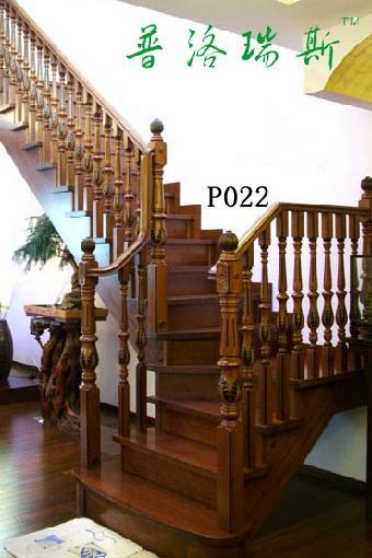 乡村别墅设计楼梯到三楼[普洛瑞斯]p022