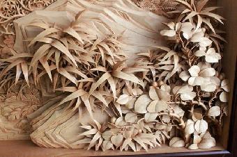 明花梨木雕