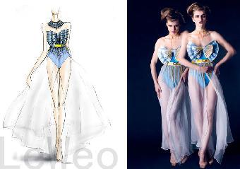 服装设计图片手绘图片水粉