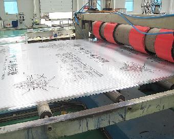 阳泉/阳泉10mm双层中空阳光板,阳泉10mm口字格聚碳酸酯PC板